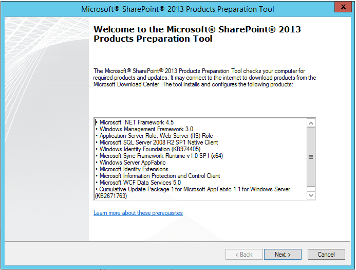 Install and troubleshoot Online/Offline prerequisites issues