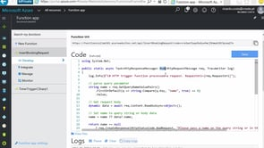 Event driven aplications with Azure Functions