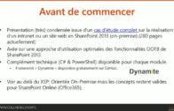 [FRENCH] Réalisation d'intranets et sites web SharePoint 2013 en Cross Site Publishing