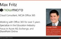 Keeping up with the Joneses – Managing, Preparing for, and Adapting to Change in the Office 365