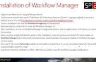 SharePoint 2013 Workflow Manager Installation & Configuration