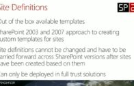 SharePoint site provisioning on-premises and in the Cloud