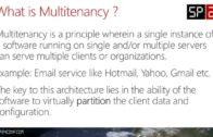 Technical Deep Dive – SharePoint 2013 Multitenancy