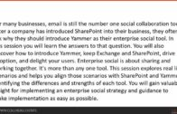 Who needs Yammer – we have SharePoint!
