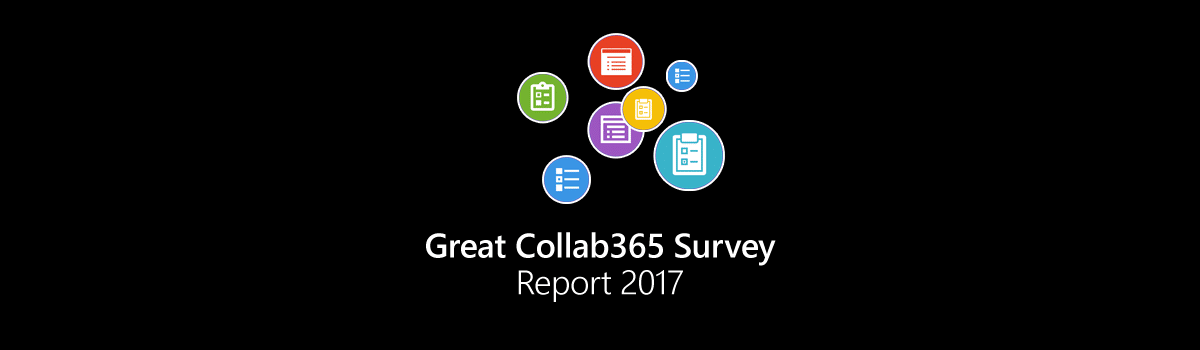 The Great Collab365 Survey Report 2017