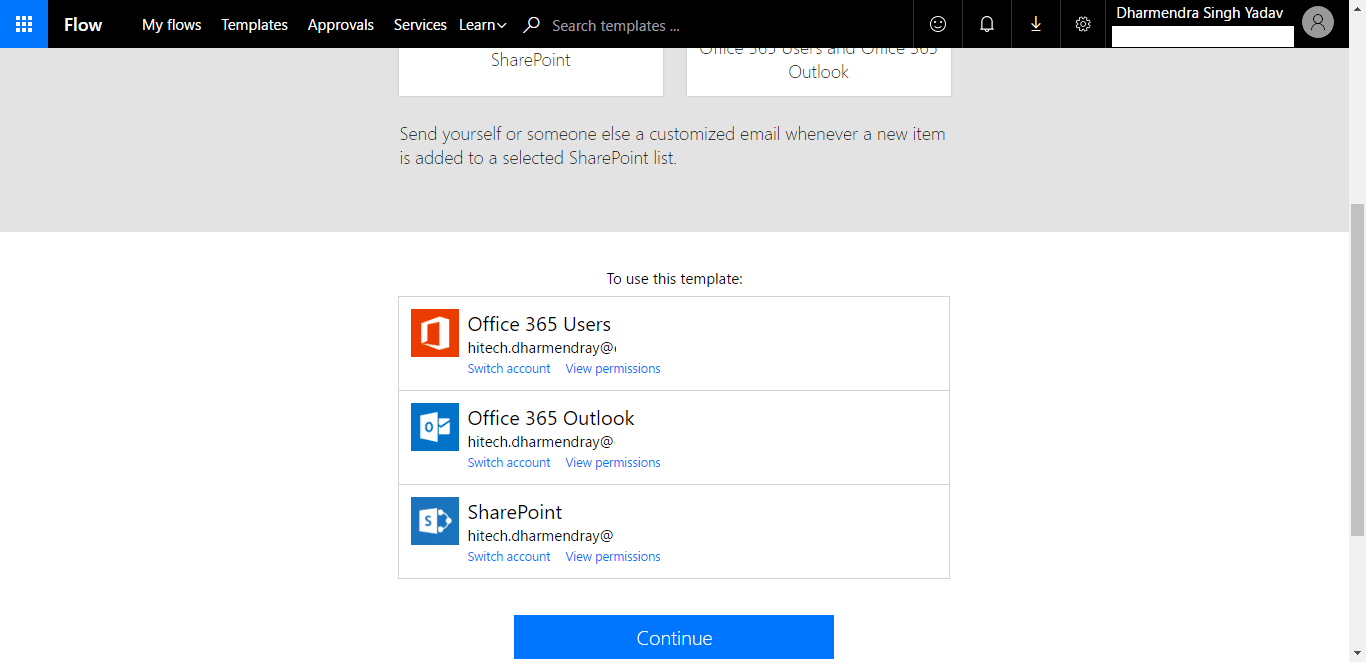 How to create a User Registration Form using PowerApps, Flow
