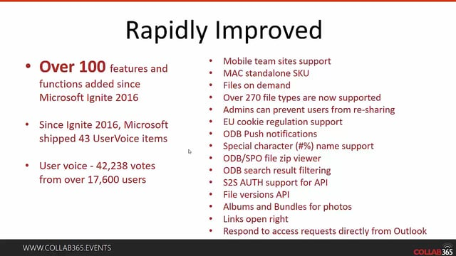 OneDrive Making a Real Comeback - Collab365 Community