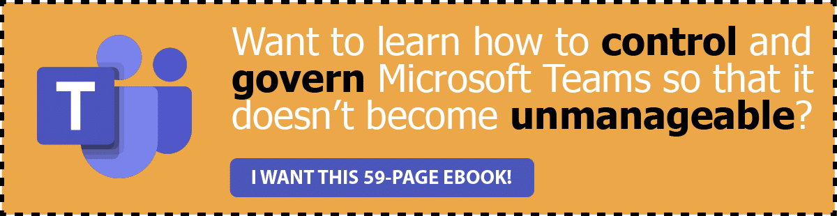 Microsoft Teams Governance EBook