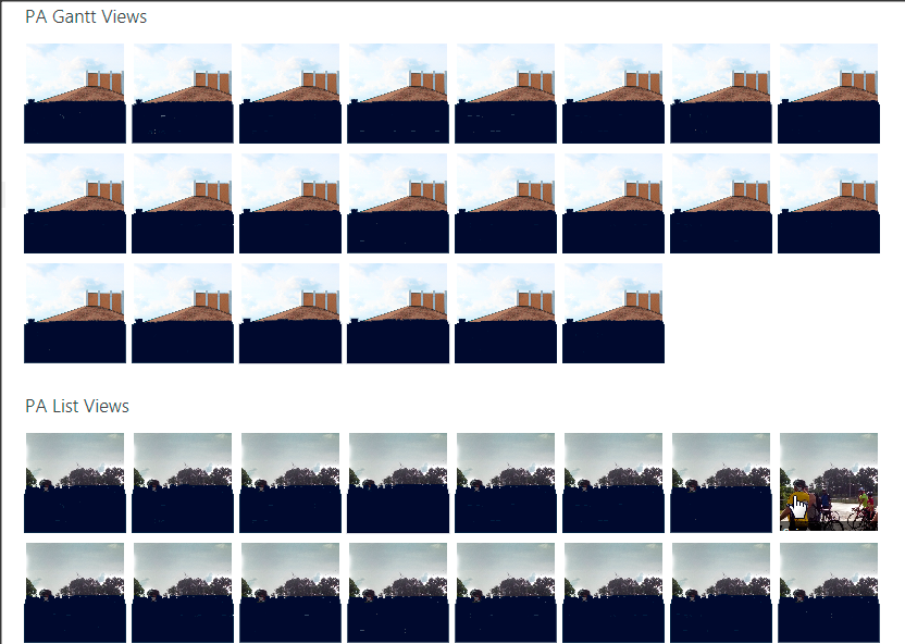 How to create a wrapped tile-view for the 'Multiple Promoted