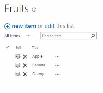 Using JSLink to implement delete-buttons in list view