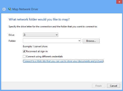 Map a SharePoint Document Library as a network drive