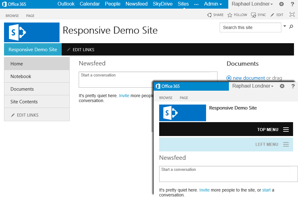 Get the Responsive SharePoint WSP Solutions on CodePlex - Collab365 ...