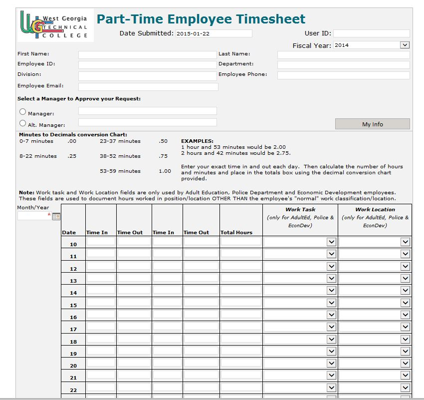 Hour Calculating Time Sheet. Attorney Timesheet Template Download