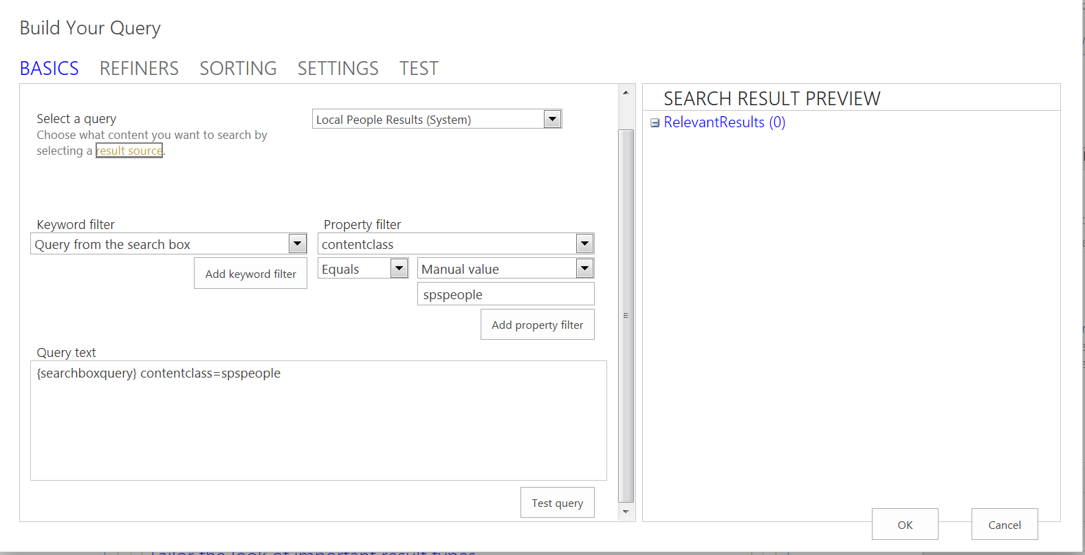 issues creating a simple sharepoint 2013 people directory